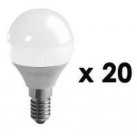 AMPOULE LED E14 DURACELL PACK 20 X M 100 N 14 B 1