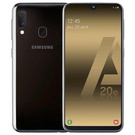 Samsung GSM PORTABLE SEUL SAMSUNG GALAXY A 20 E NOIR