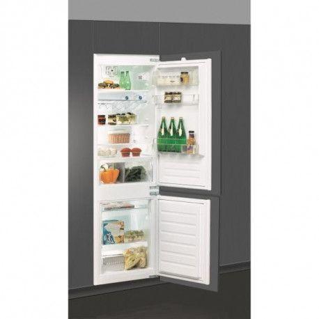 Whirlpool Réfrigérateur, Encastrable, Niche 178 cm, 275 L , A+, Charnières glissi WHIRLPOOL - ART6614A+SF