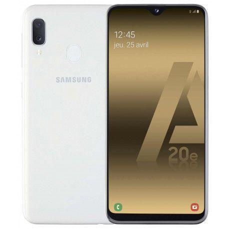 Samsung GSM PORTABLE SEUL SAMSUNG GALAXY A 20 E BLANC