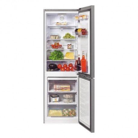 BEKO RCNA320K20S - Refrigerateur - Pose libre - Combine - Ventile - 287 L - NeoFrost - A+ - Silver