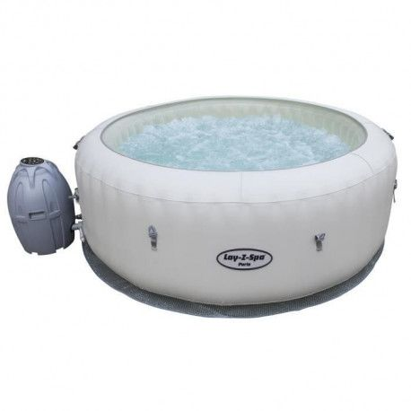BESTWAY Spa rond avec chromotherapie Paris - 6 places - O 196 x H 66 cm