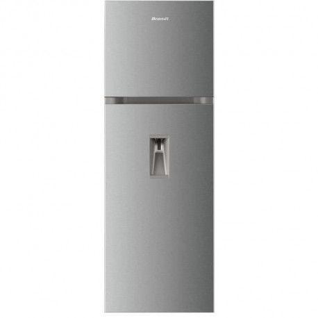 Brandt - DP7000S - Refrigerateur Congelateur Haut - 304L 244L + 60L -No Frost - A+ - L 59,54 cm X H 170 cm - Simili Inox