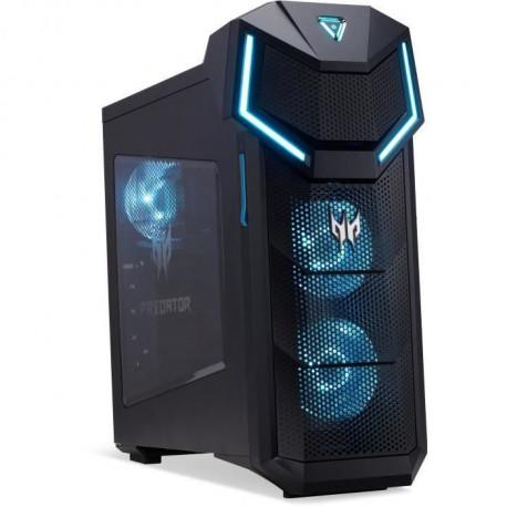 Unite Centrale Gamer - ACER Predator PO5-610 - Core i7-8700 - RAM 16Go - Stockage 1To HDD + 256Go SSD - RTX 2080 - Windows 10