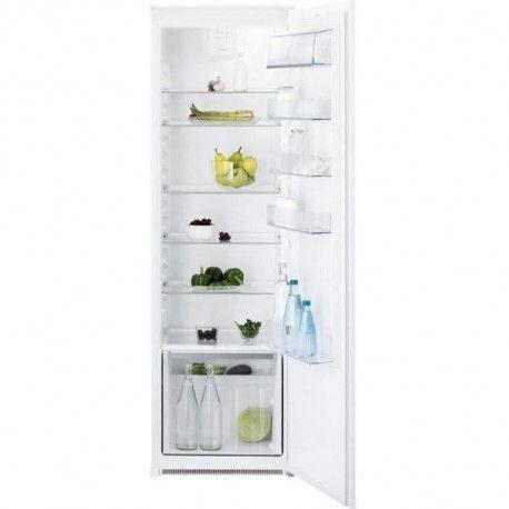 ELECTROLUX ERN3211AOW - Refrigerateur integrable 1 porte - 310 L - A+ - Brasseur dair FreeStore - L 54 x H 177,2 cm