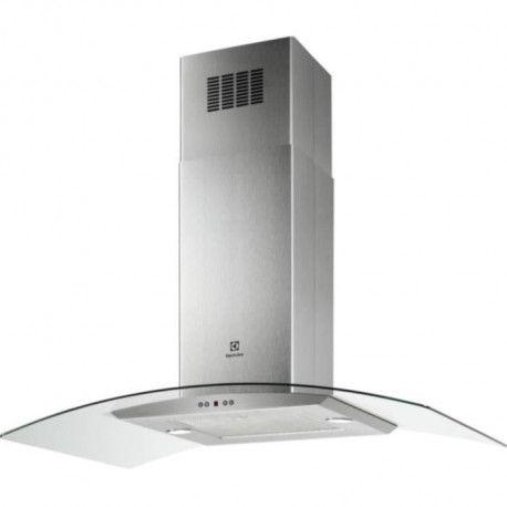 ELECTROLUX EFL10965OX - Hotte decorative ilots -713m3/h - 67 dB - 3 vitesses + 1 intensive - L 80cm - Inox