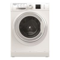 HOTPOINT NM10823WFR - Lave-linge frontal - 8 kg - 1200 tours / min - A+++ - Blanc - Moteur Induction