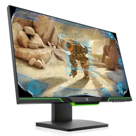 HP Ecran PC Gamer 25x - 24.5 Full HD - Dalle TN - 144 Hz - 1 Ms - AMD FreeSync - 16:9 - Hauteur ajustable - HDMI - DisplayPort
