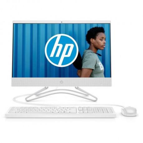 HP PC Tout-en-un 22-c0046nf 21.5 FHD IPS - AMD A6 - RAM 8 Go - Stockage 1 To + SSD 128 Go - Clavier et Souris inclus - Windows 1