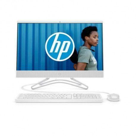 HP PC Tout-en-un 24-f0074nf 23.8 FHD - AMD A9 - RAM 8 Go - Stockage 1 To + SSD 128 Go - AMD Radeon R5 - Clavier/Souris - Windows