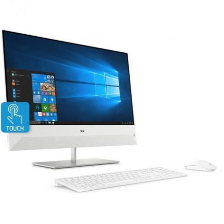 HP Tout-en-Un Pavilion 24-xa0007nf - 23,8 FHD - Core i7-8700T - RAM 16Go - Disque Dur 1To HDD + 128Go SSD - GTX 1050 4Go-Windows