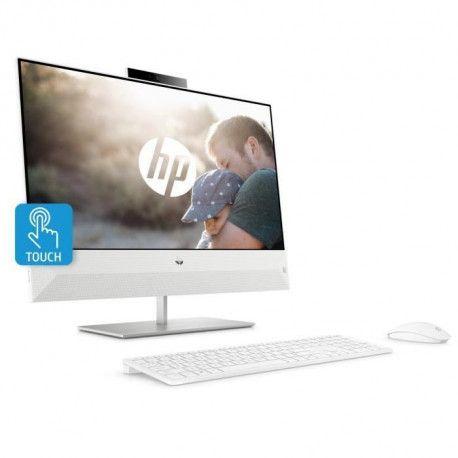 HP PC Tout-en-un Pavilion 24-xa0035nf - 23.8 FHD Tactile - Intel Core i7-8700T - RAM 8 Go - Stockage 2 To - Webcam HD - Windows