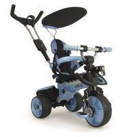 INJUSA Tricycle enfant evolutif City Bleu