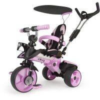 INJUSA Tricycle enfant evolutif City Rose