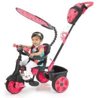 LITTLE TIKES Tricycle Evolutif 4 en 1 Deluxe Edition Neon Rose