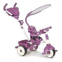 LITTLE TIKES Tricycle Evolutif 4 en 1 Sports Edition Rose/Blanc