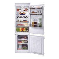 ROSIERES RBBS100 - Refrigerateur combine encastrable - 250 L 190 + 60 L - Froid brasse - A+ - L 54 x H 177,2 cm