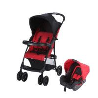 SAFETY 1ST Poussette combinee duo Taly 2 in 1- Ribbon Red Chic
