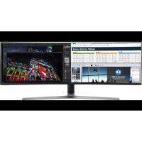 Ecran Samsung 49 32:9 CURVED DALLE VA DFHD 3840X1080 , 4MS GtG, 144Hz, 1 Milliard de couleurs KVM switch integre et USB Type-C