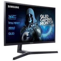 SAMSUNG C32HG70 - Ecran incurve 32 pouces QLED WQHD - Dalle VA - 1ms - 144Hz - HDMI/Display port - FreeSync
