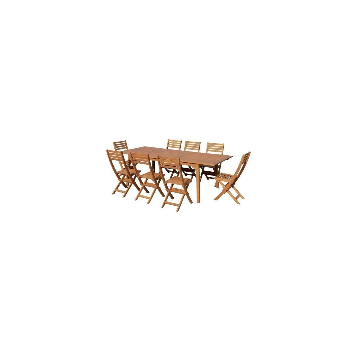 Chaises Et Pliantes En Places Eucalyptus Table Extensible 8 v8Omny0wN