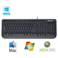 Microsoft Clavier Wired Keyboard 600 Noir