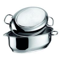 BERNDES Cocotte a rotir Perfect Injoy Edition Speciale Induction - O 34 cm - Gris - Tous feux dont induction