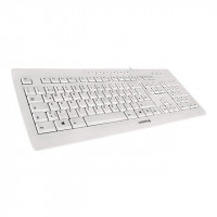 CHERRY Clavier Stream 3.0 - USB - RU - Gris pale