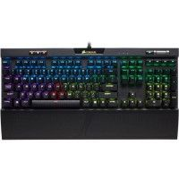 CORSAIR Clavier mecanique Gaming K70 RGB MK.2, Backlit RGB LED, Cherry MX Marron