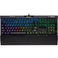 CORSAIR Clavier mecanique Gaming K70 RGB MK.2, Backlit RGB LED, Cherry MX Silent