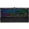 CORSAIR Clavier mecanique Gaming K70 RGB MK.2 RAPIDFIRE, Backlit RGB LED, Cherry MX Speed