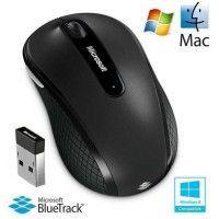 Microsoft Souris sans fil Mobile Mouse 4000 Noire