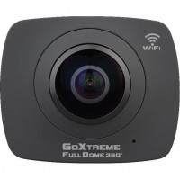 GOXTREME Camera Full Dome 360? - Video HQD 1920x960 - Image 3008x1504 - 32 Go - Noir