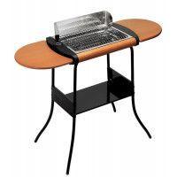 Lagrange 319003 Barbecue Grill Concept® Deluxe Sur pieds  Tablettes amovibles en bois