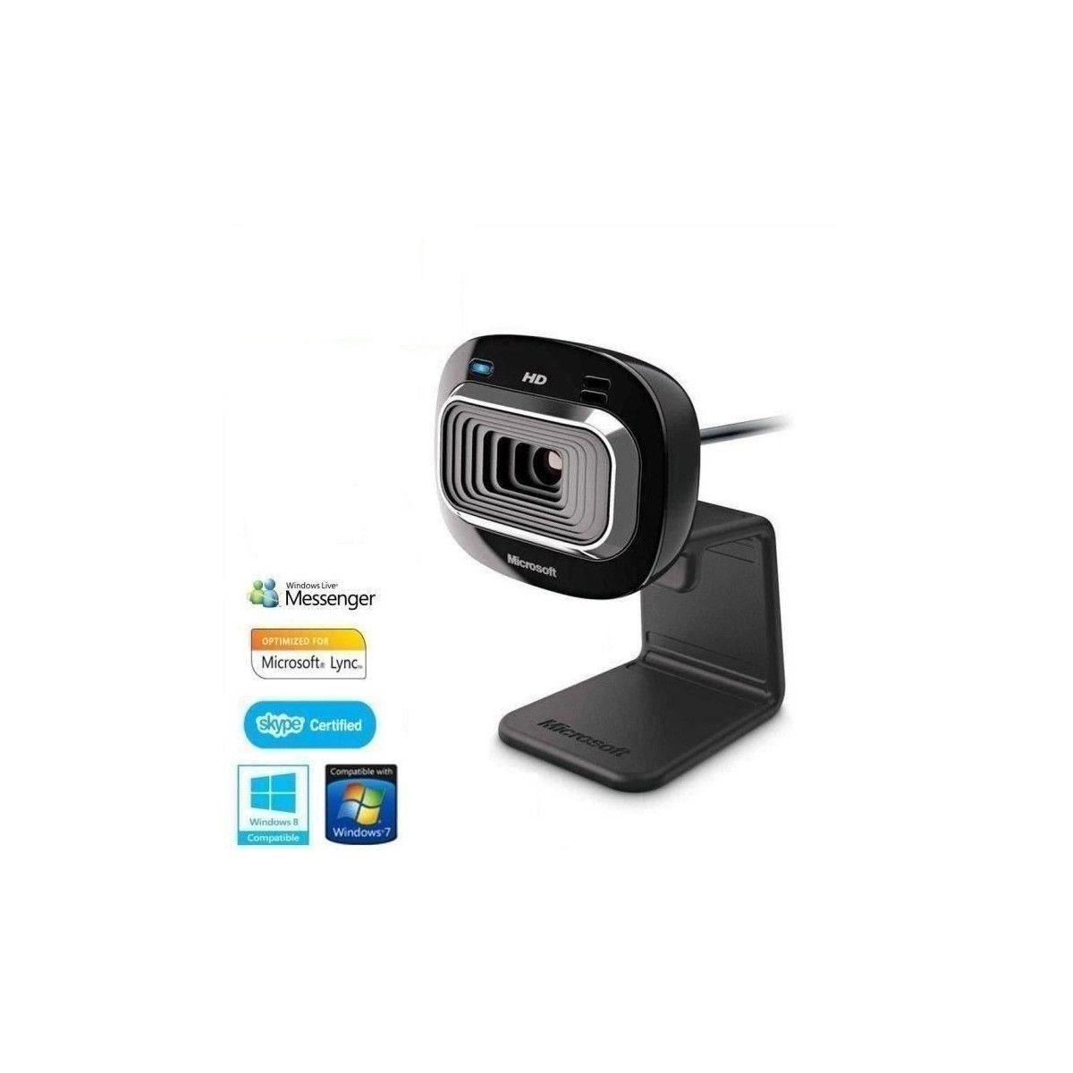 Microsoft Lifecam HD-3000 Noire