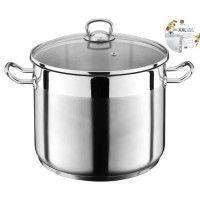 THE KITCHENETTE Marmite inox 3645762 20L XXL 30cm Tous feux dont induction