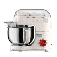 BODUM 11381-913EURO-3 Bistro Robot de cuisine electrique - Bol inox 4,7 l - 700 W - Blanc creme