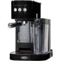 BORETTI B400 Machine a expresso 15 bars - Cappuccino et latte avec mousse de lait - Noir
