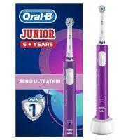 Oral-B Junior 6+ Brosse a dents electrique rechargeable - Violet