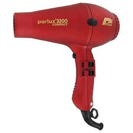 PARLUX Seche-cheveux - 3200 Compact - Debit dair 69 m3/h - 1900 W - Rouge