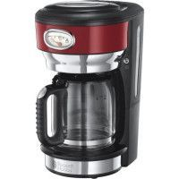 RUSSELL HOBBS 21700-56 - Cafetiere filtre Retro - 10 tasses - 1000 W - Rouge