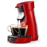SENSEO HD6564/81 Machine a cafe a dosette Viva Duo Select - Rouge