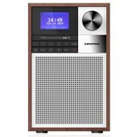 Radio de salon FM digital RDS - Bluetooth - USB charge + Design rétro - GRUNDIG - WTR2000BT