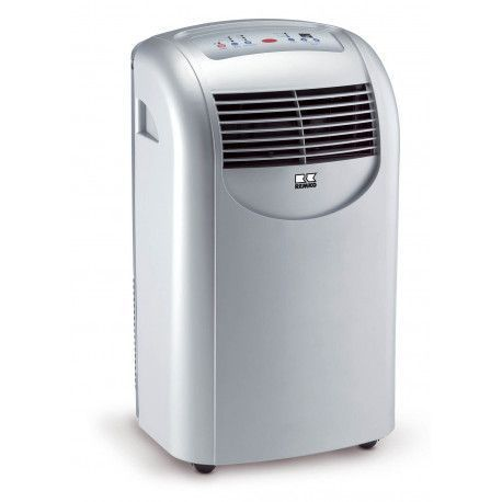 Remko MKT 291 2068506 Climatiseur pour pièce de 90 m puissance de refroidissement 2,94 kW Argent