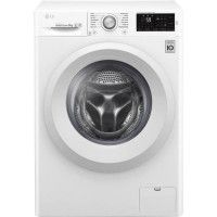 LG-F92J53WH Lave linge frontal 9Kg 1200t Direct Drive A+++-20% Affichage digital -Fin differee 3-19H