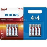 Piles POWER AA 8 -blister Promo 4+4 PHILIPS - LR6P8B/10