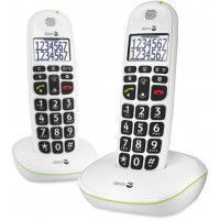 TELEPHONE SANS FIL DORO PHONEEASY 110 DUO WHITE