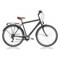 "Vélo adulte Central Park 28"" Homme 18v anthracite mat - H53"