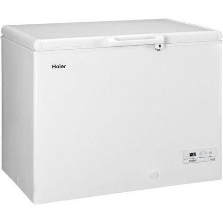 HAIER - BD319RAAE - Congelateur coffre - 319L - Froid Statique - A+ - L110cm x H84,5cm - Blanc