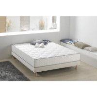 Matelas ressorts et mousse 160 x 200 - Confort equilibre - Epaisseur 24 cm - Fabrication europeenne - FINLANDEK Nahka